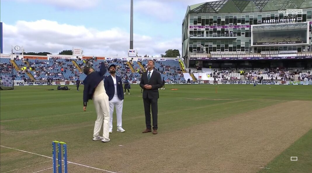 'Ridiculously High': Nasser Hussain 'Amused' As Joe Root Flips Coin High During IND Vs ENG Toss