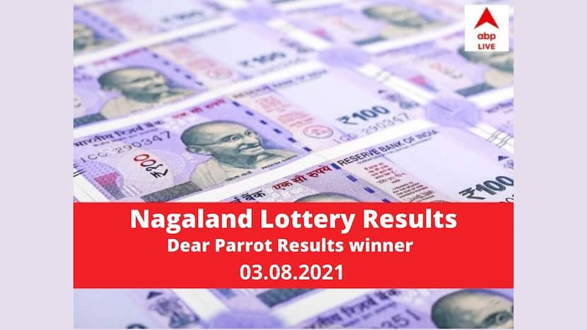 Nagaland State lottery Dear Parrot Result today