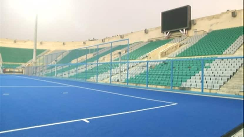 Major Dhyan Chand National Stadium all decked up to welcome Olympics medalists