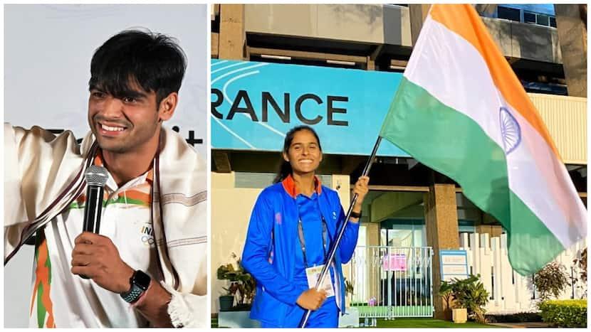 Athletics: Shaili Singh Misses Gold By 0.01M In Long Jump, Neeraj Chopra Congratulates UP Girl