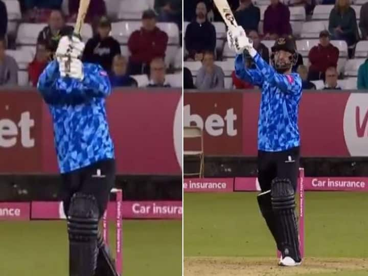 Rashid Khan Or MS Dhoni? This Helicopter Shot By The Afghan Is Going Viral - Watch Video