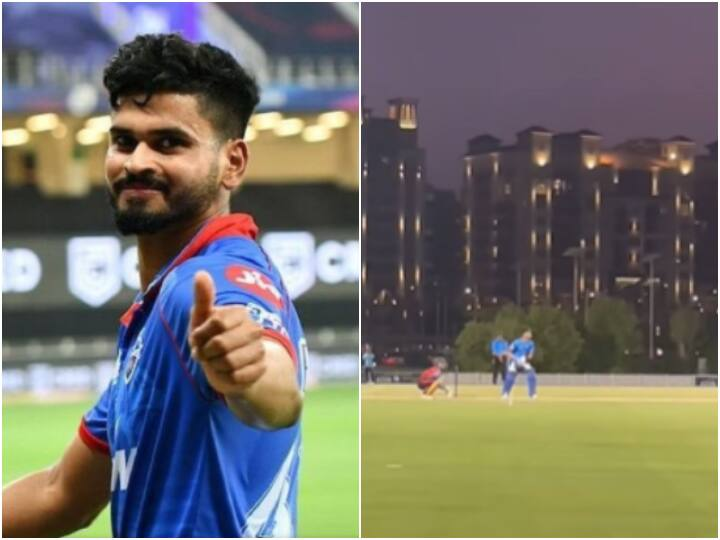 IPL 2021 Phase 2: Shreyas Iyer Hits Mammoth Six Out Of Park In Practice Game, Video Goes Viral