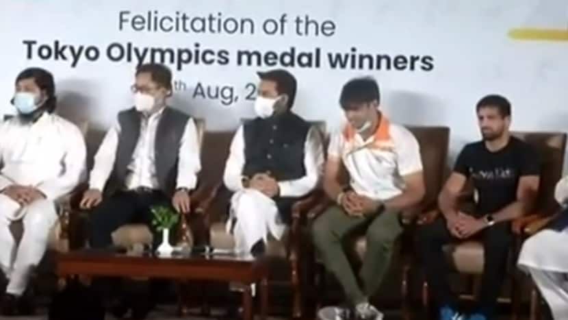 Olympic athletes felicitated in an award ceremony in Delhi   Full Coverage