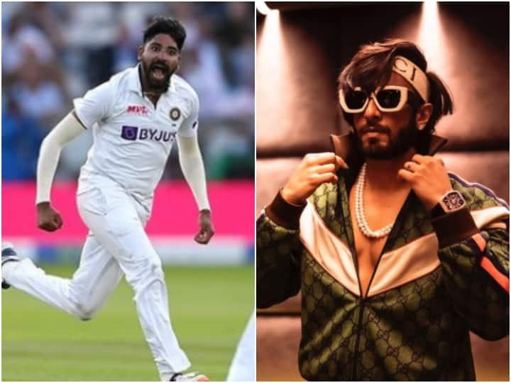 '83' Movie Star Ranveer Singh Hails Mohammed Siraj Lord's Test Effort, Calls Him 'Phenom'