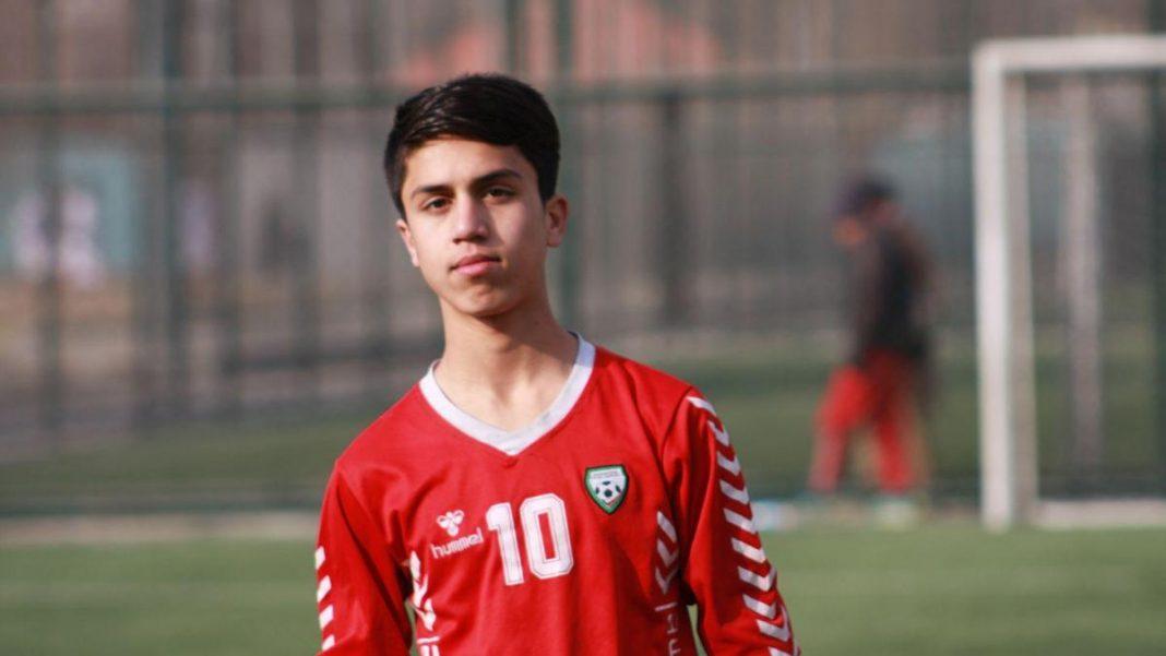 Teenage Afghan Footballer Zaki Anwari Falls To Death From US Aircraft In Kabul