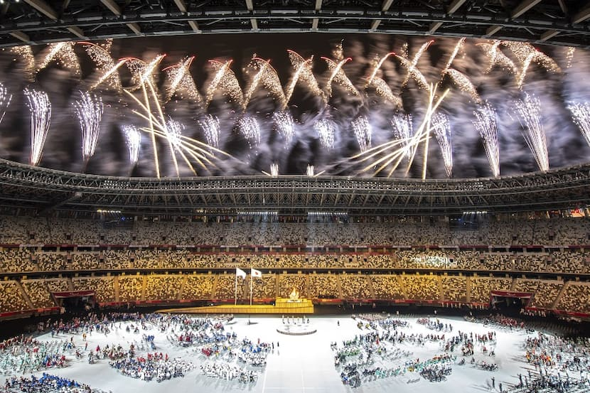 IN PICS |Tokyo Paralympics: Blistering Opening Ceremony Catches Eye-Balls From Around The World