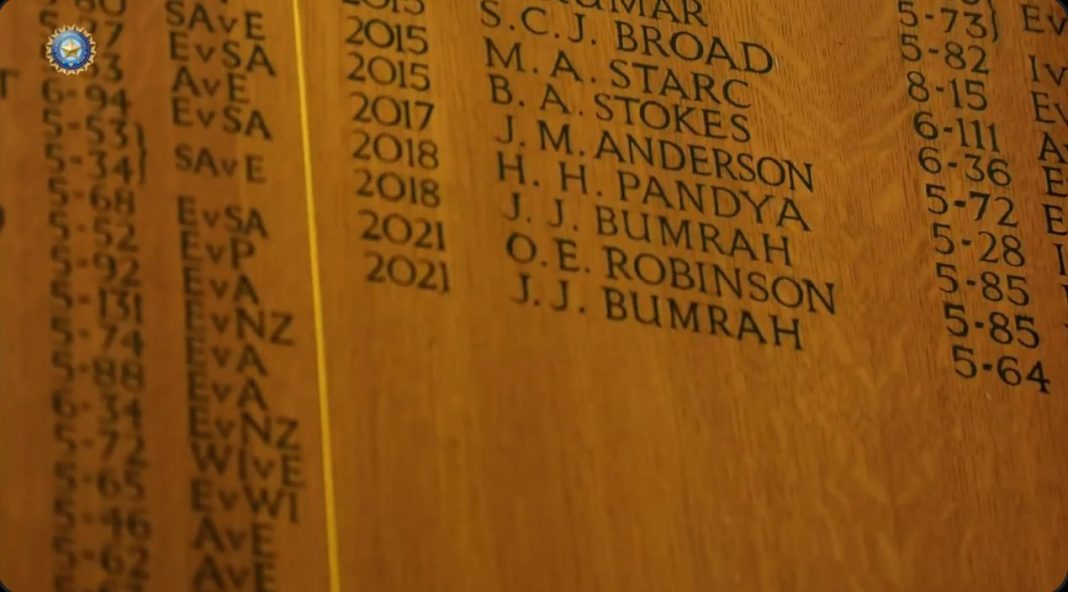 IND Vs ENG: Jasprit Bumrah On Trent Bridge's Honours Board For 2nd Time - Watch Video