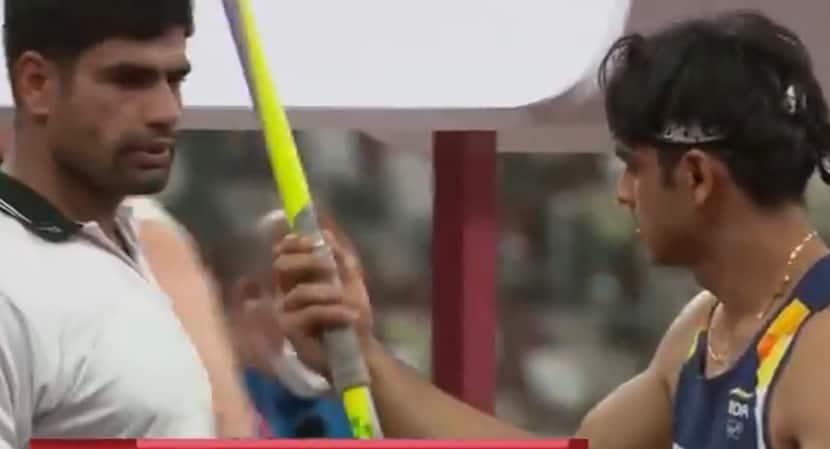 Neeraj Chopra Recalls How Pakistan's Nadeem Took His Javelin Just Before The Final - Watch