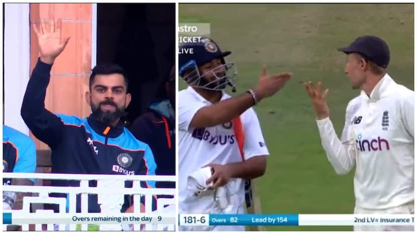 Kohli & Rohit Prompt Pant To Stop Play Due To Bad-Light, Root Looks Visibly Annoyed - WATCH