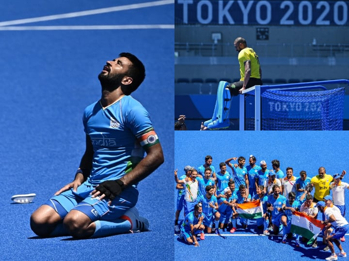 Historic Moments Captured In Camera As Indian Hockey Team Seal Bronze Medal At Tokyo Olympics