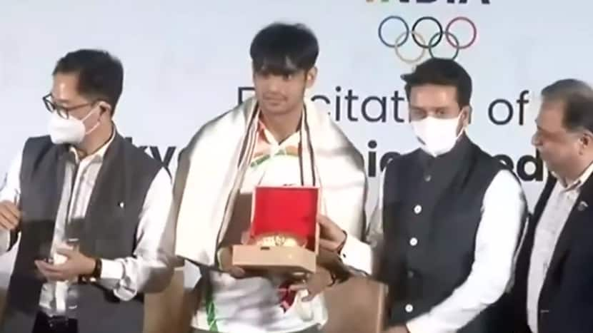 Big Moment: Neeraj Chopra's Felicitation | 'This is not my GOLD, It's of all Indians'