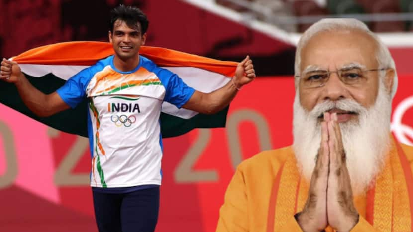 PM Modi congratulates javelin thrower Neeraj Chopra over call