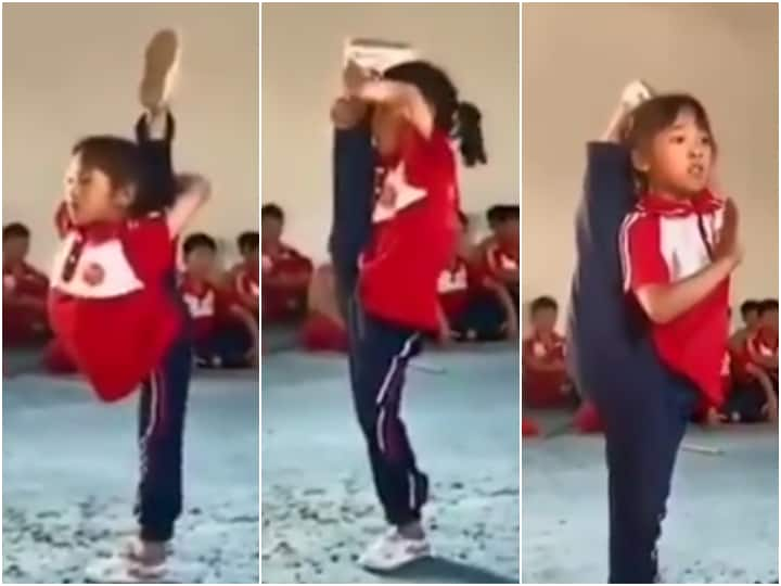 Viral Video: Virender Sehwag Reacts To Little Girl's 'Jaw-Dropping' Gymnastics Routine