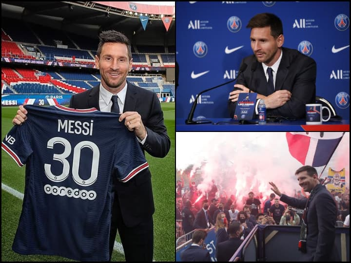 [IN PICS] 'Eyeing Champions League Once More': Lionel Messi Exits Barcelona, Joins France's PSG