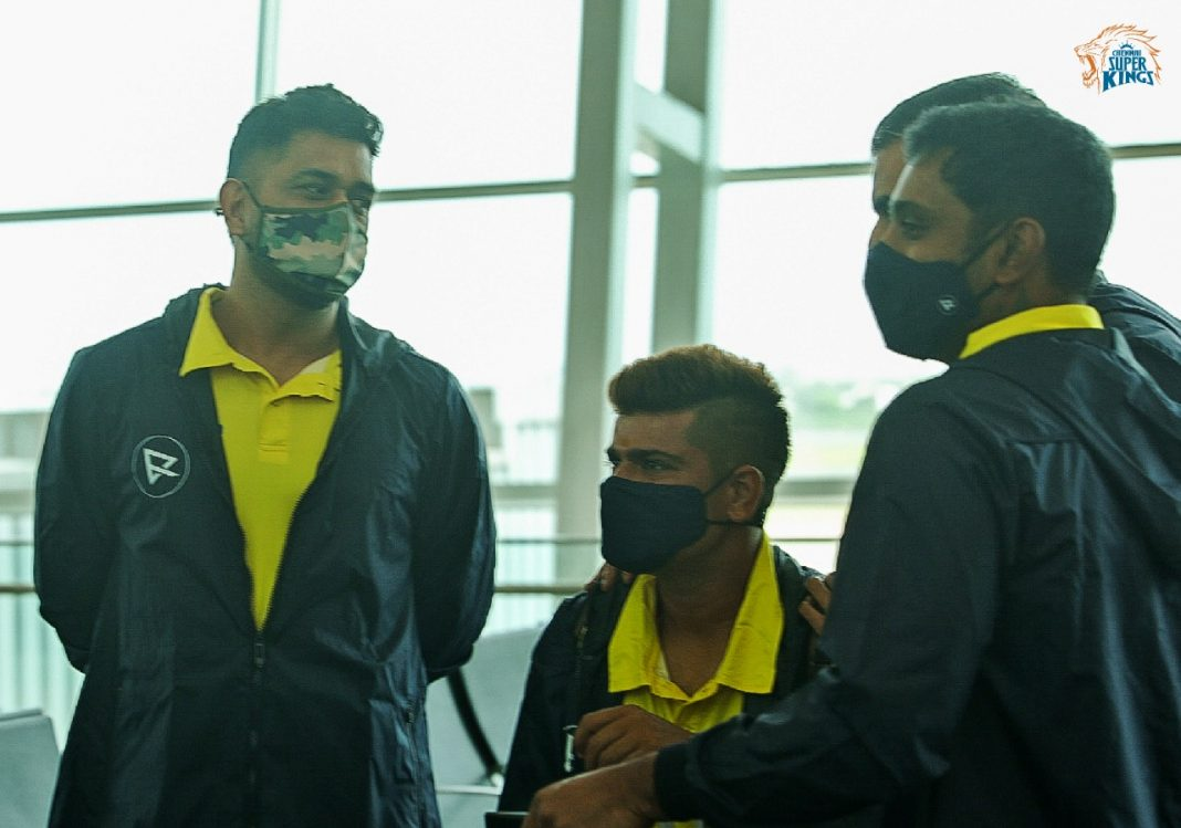 IN PICS | Chennai Super Kings Land In UAE Ahead Of IPL 2021 Restart