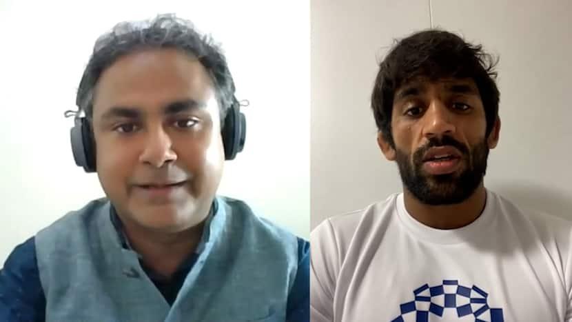 Bajrang Punia congratulates Neeraj Chopra for the historic win   Exclusive Interview