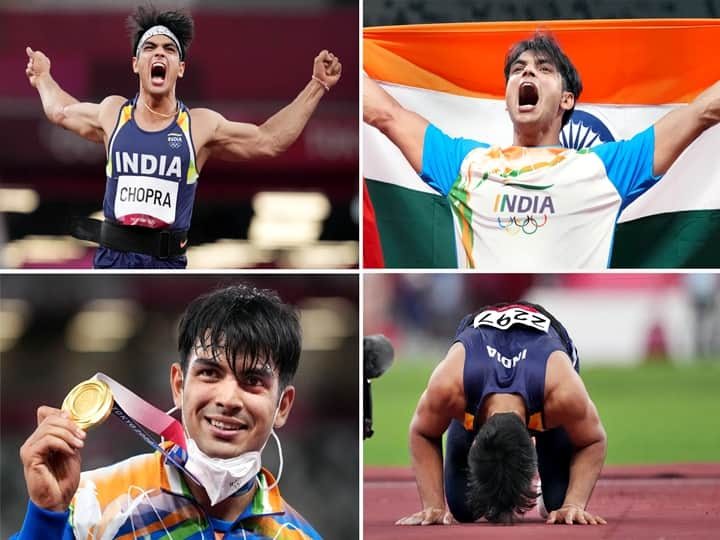 IN PICS   Historic Moments Of Neeraj Chopra's Stunning Tokyo Olympics Win That Made India Proud