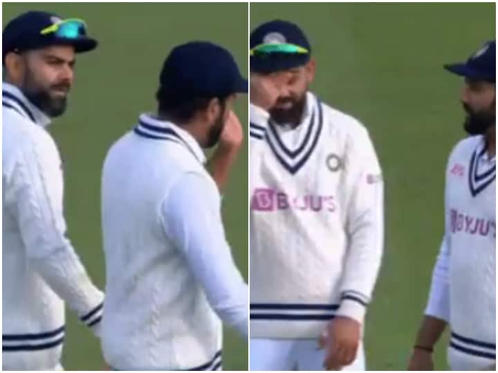 'Frustrated' Rohit Sharma's Discussion With Virat Kohli During Ind vs Eng 4th Test Goes Viral