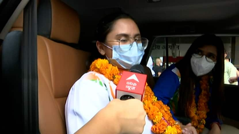 Avani Lekhara receives grand welcome, thanks Modi government for the support