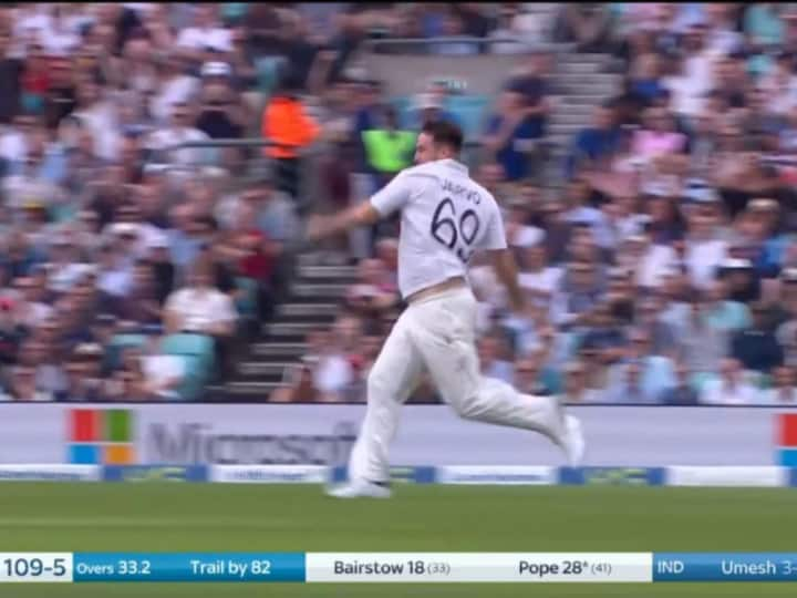 Watch: Jarvo Invades Pitch For 3rd Time In Ind vs Eng Test Series, Crashes Into Jonny Bairstow