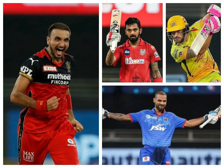 IPL 2021: Harshal Patel Leads Purple Cap Race, Dhawan, Rahul, And Du Plessis Clash For Orange