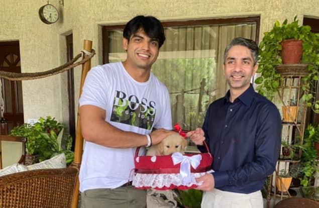 Hope 'Tokyo' Gets A Sibling Named 'Paris': Abhinav Bindra Gives Paw-fect Gift To Neeraj Chopra