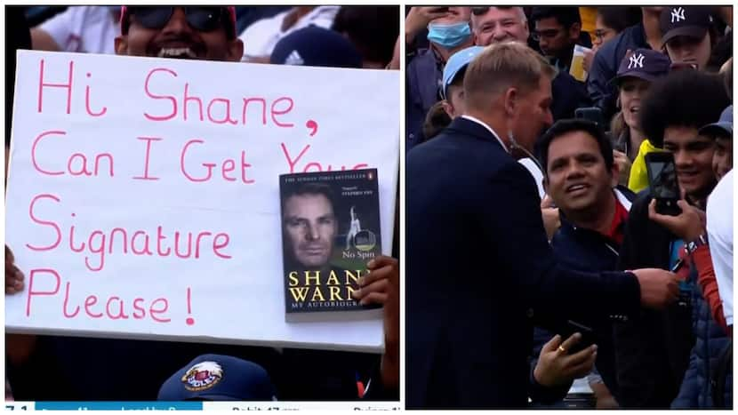 Indian Fan Held Placard For Shane Warne's Autograph, Spinner Fulfils His Wish In Style - Watch