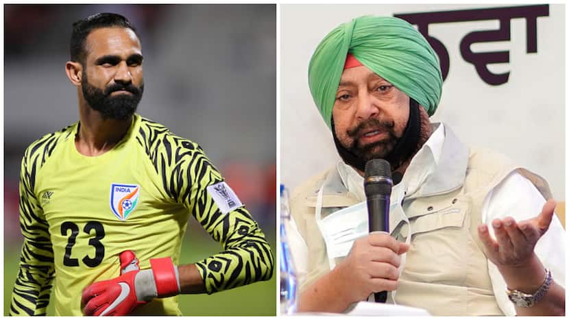 India's Goalie, Amrinder Singh Urges People To 'Stop Tagging' Him On Posts Related To Former CM