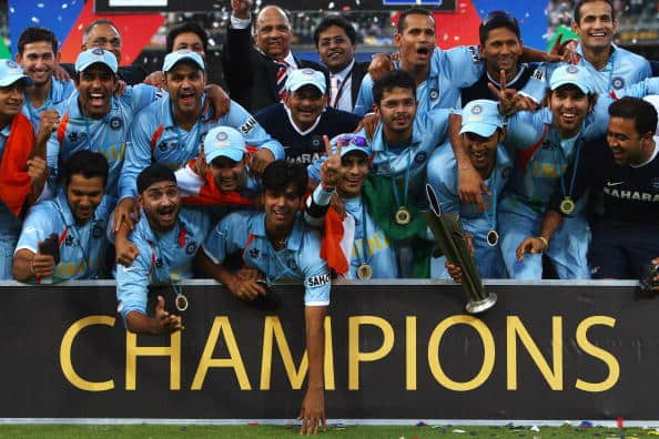 On This Day, 14 Years Ago, Dhoni's Men Scripted History By Winning 1st T20 WC By Defeating PAK