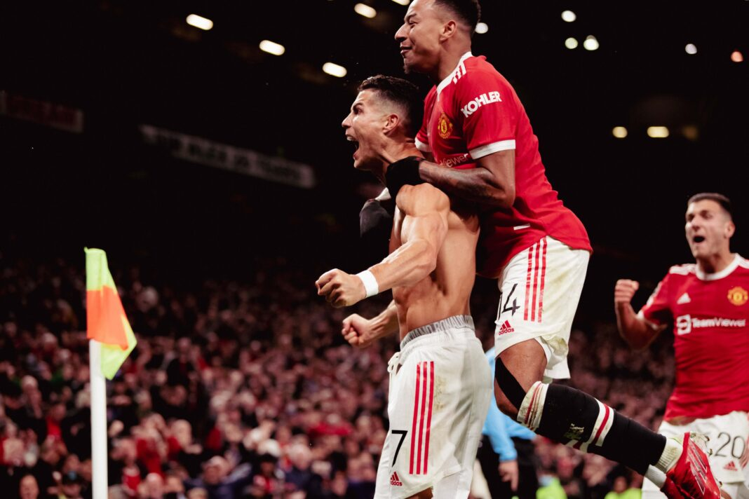 Cristiano Ronaldo's 95th Minute Goal Saves Man United From Embarrassing Defeat Vs Villareal