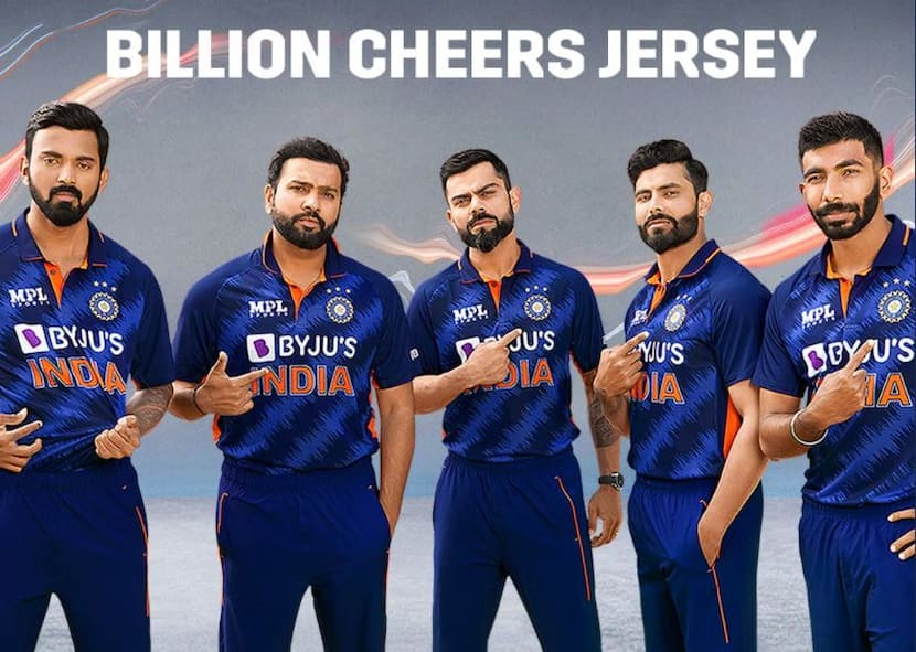 Billion Cheers Jersey: Team India's New Jersey Unveiled Ahead Of T20 World Cup