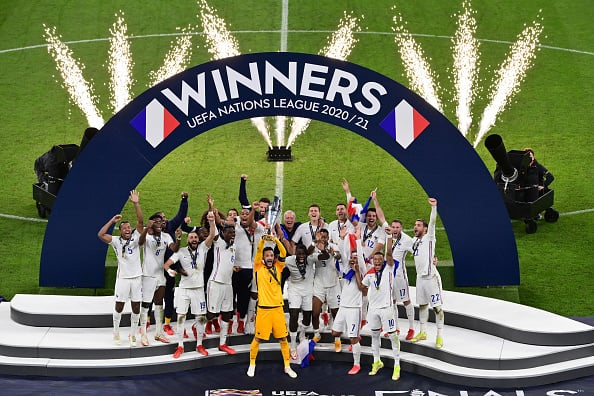 In PICS: France Defeat Spain By 2-1 In 2nd UEFA Nations League Final, Benzema & Mbappe Shine
