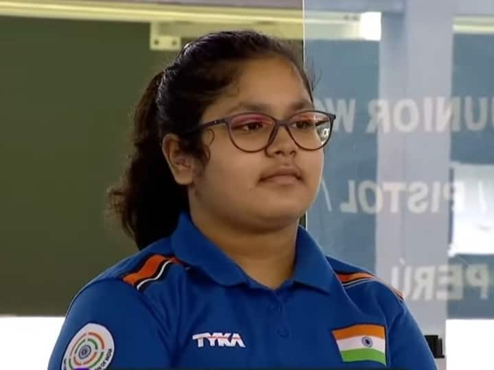 ISSF Junior World Championship: 14-year-Old Namya Kapoor Wins Gold In 25 Meter Pistol Event